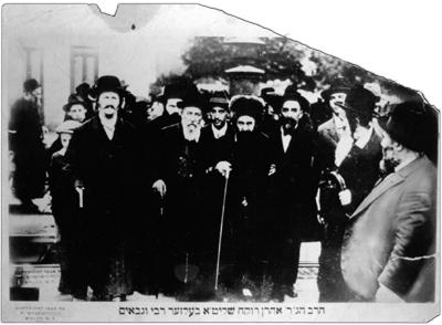 Reb Aharon of Belz