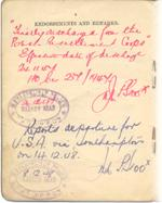Polish Resettlement Corps Registration Book (p.4)